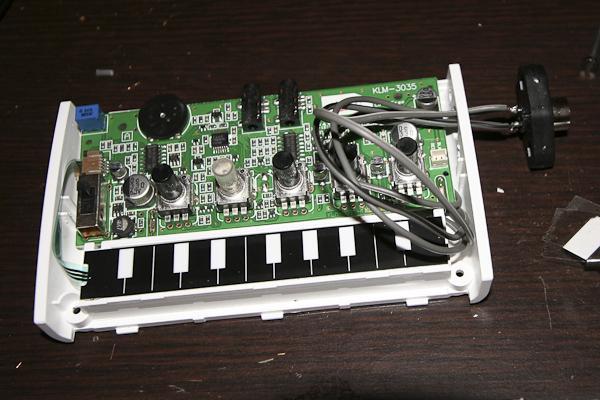 korg monotron - cv  gate mod   amp