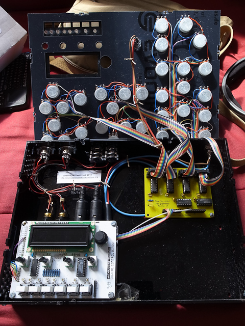mutable instruments shruthi controler build