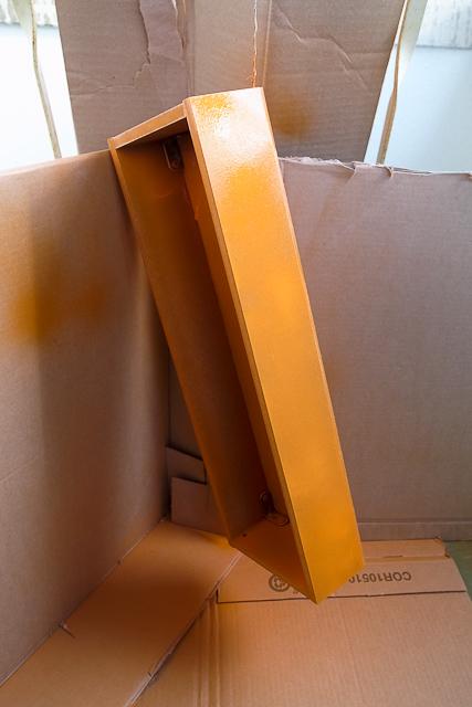orange eurorack modulare case