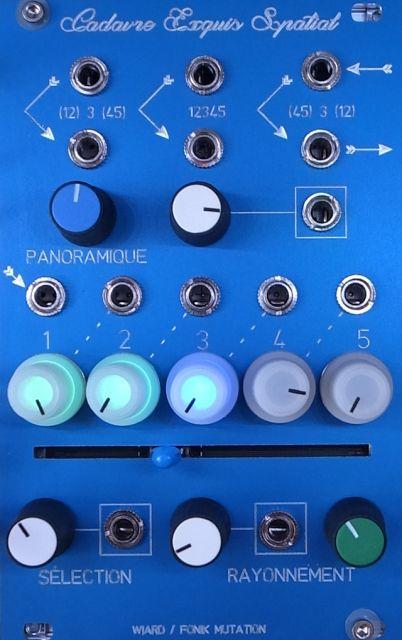 cadavre exquis spatial, processeur automatisé de collage-mixage inconscient de  spatialisation