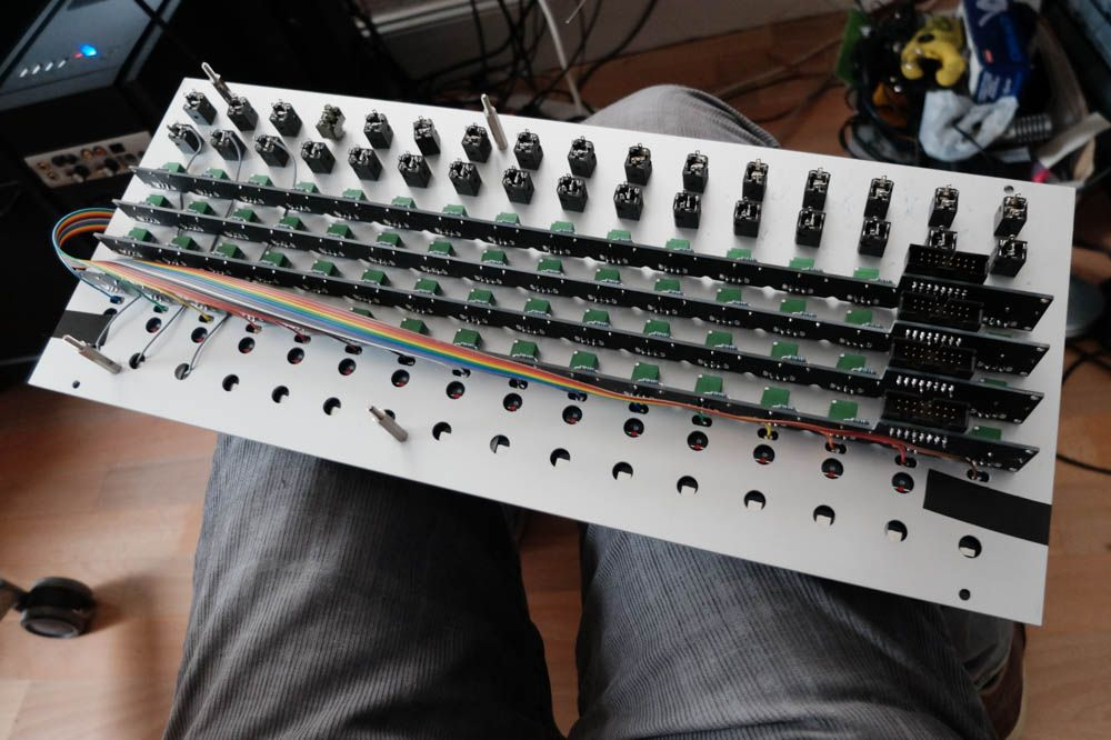 Serge Touch Keyboard Build