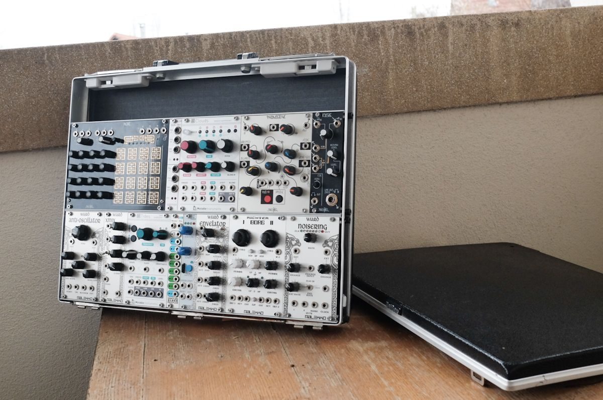 eurorack modular synth case 6U