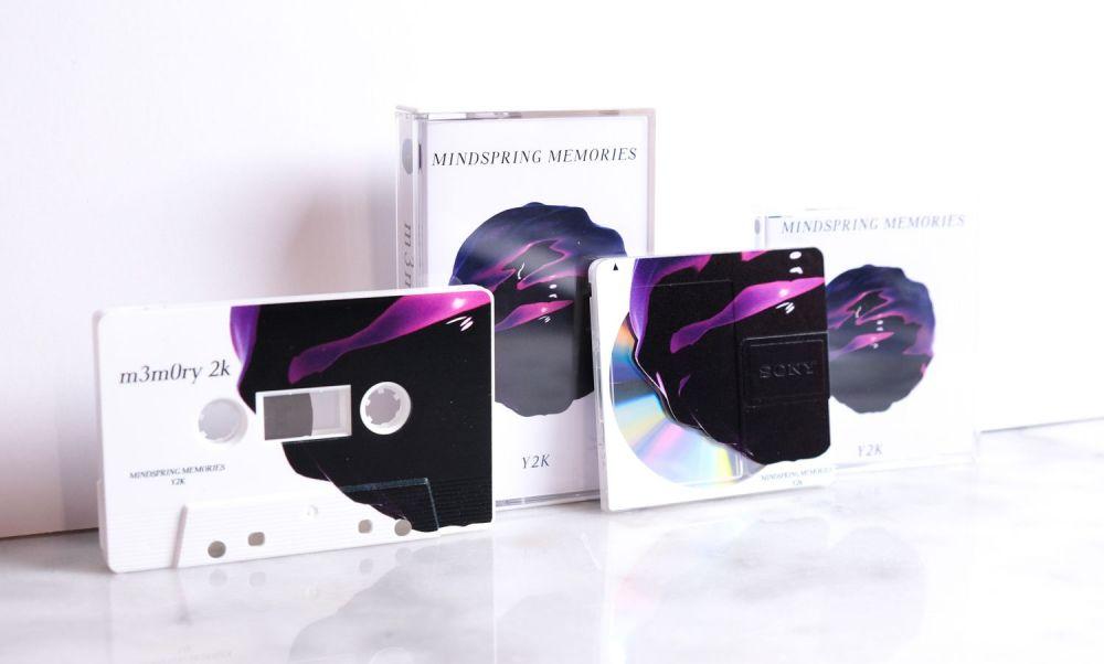 m3m0ry 2k by MindSpring Memories / Y 2 K cassette minidisc